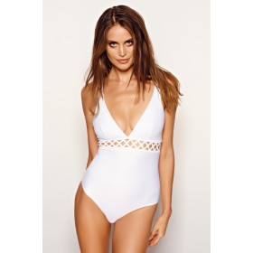 Swimsuit Ines, white
