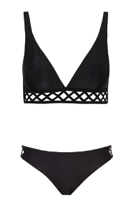 High Apex Bikini Ines, Black