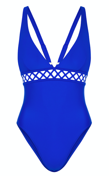 Ines swimsuit, Electric Blue