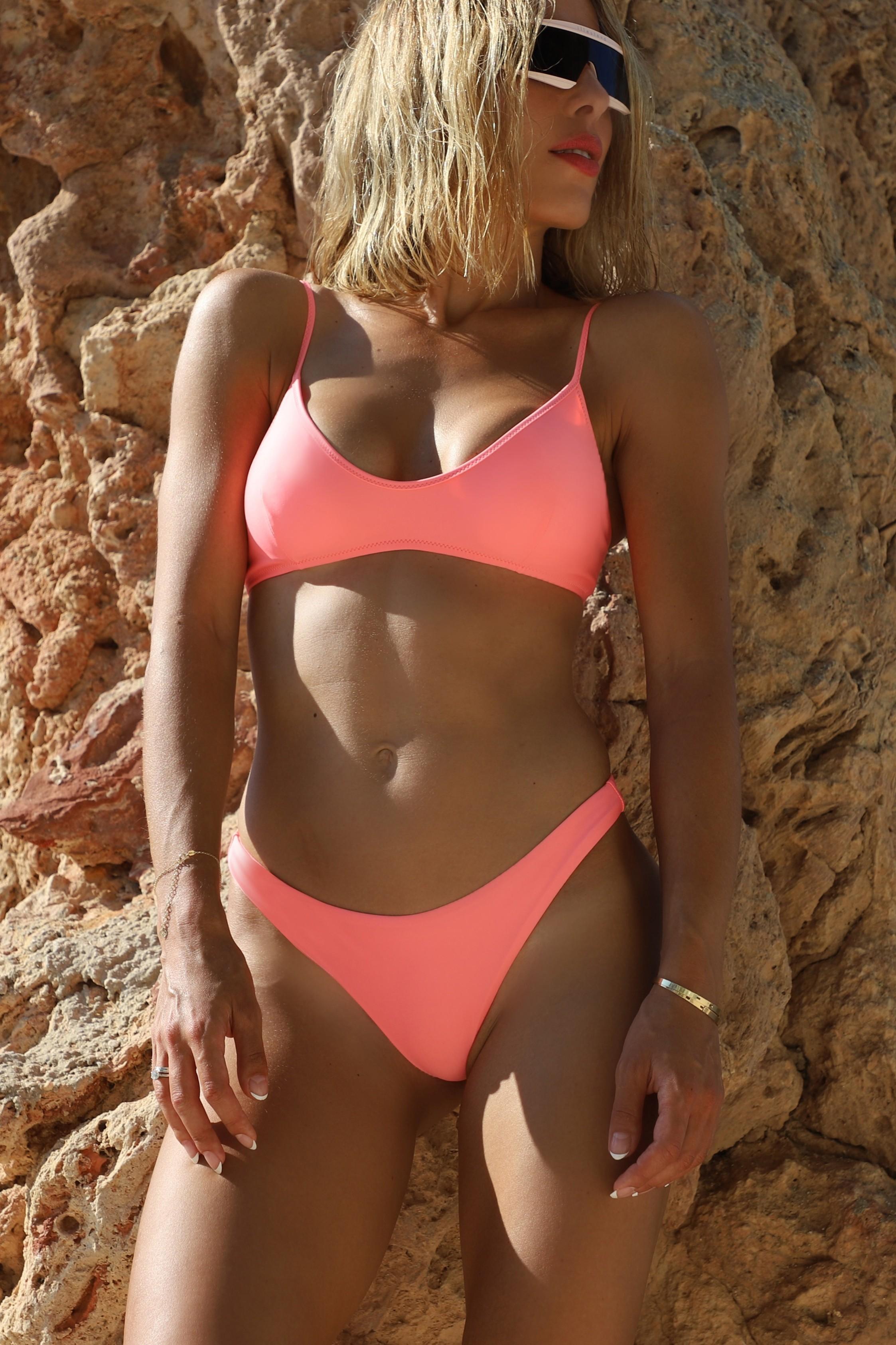 Bikini Kim Breathe Pink-Purple