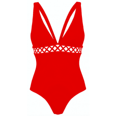 Swimsuit Ines, Red