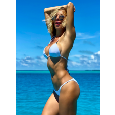 Bess Bikini, White