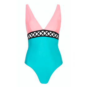 Swimsuit Ines Coral Blue
