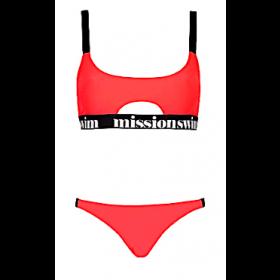 Chloe Bikini, Neon Red