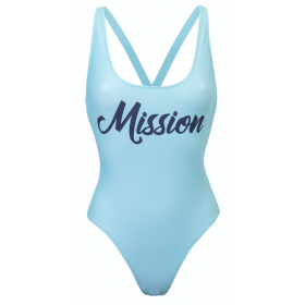 Swimsuit Mia, ice blue