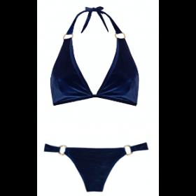 Gina Bikini, Royal Blue Velvet